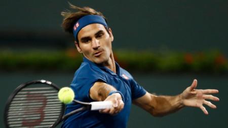 Федерер победи Вавринка в повторение на финала в Индиън Уелс от 2017 г.