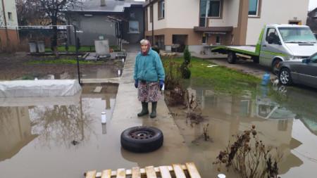 Наводнението в Требич.