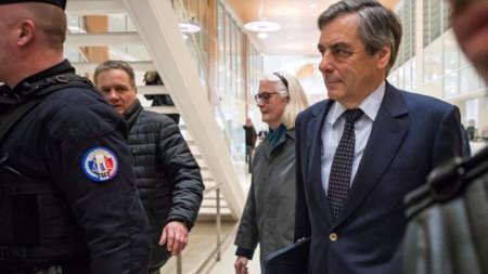 Франсоа Фийон в съда в Париж - 4 февруари 2020