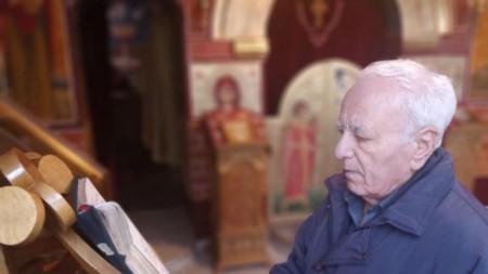 Йордан Христов, удостоен наскоро с честта да бъде протопсалт