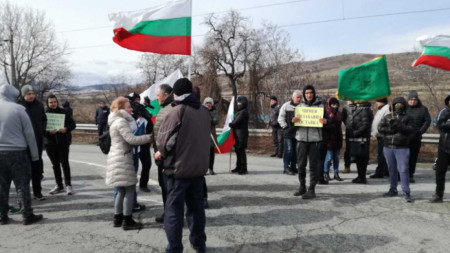 Жители на дупнишкото село Джерман подновиха протестите си срещу изграждане на депо за преработка на отпадъци край селото