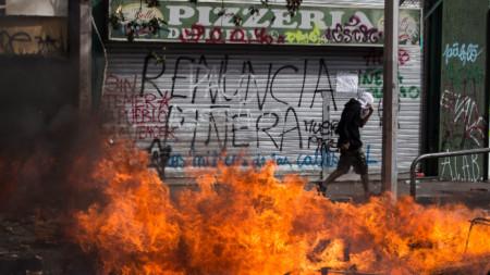 Протестите в Чили продължават пети ден