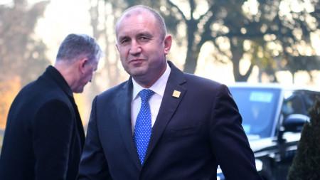 Румен Радев на срещата на върха на НАТО