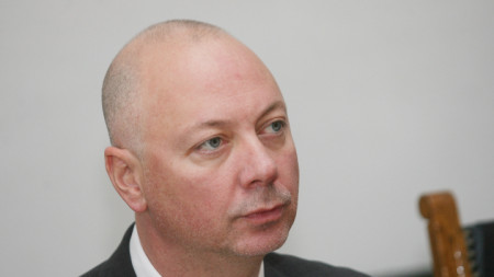 Bulgaria's Minister of Transport Rosen Zhelyazkov