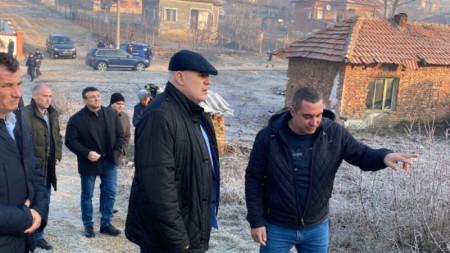Главният прокурор Иван Гешев и министърът на вътрешните работи Младен Маринов бяха в Галиче в понеделник, 13 януари