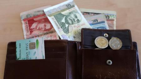 пари,портфейл,кредитна карта