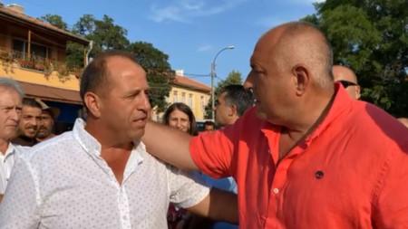 Бойко Борисов с кмета на Бата
