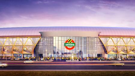 Проектът за стадион