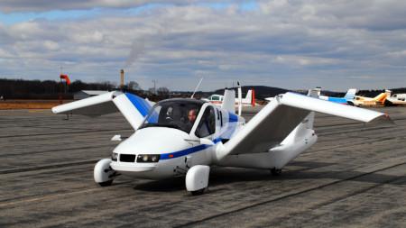 Така ще изглежда новата летяща кола.
