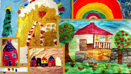 Творби на ученици от училище