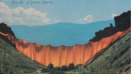 Кристо и Жан-Клод. Завеса в долината, Райфъл, Колорадо, 1970-1972