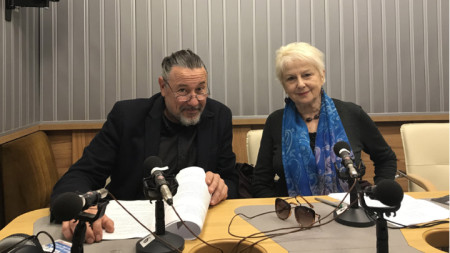 Актьорите Веселин Мезеклиев и Йорданка Кузманова