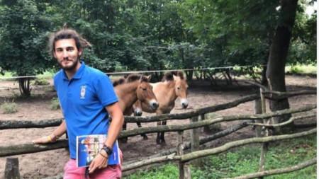 Християн Христов, директор на Центъра за защита на природата и животните в Добрич