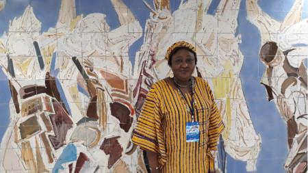Бари Сана Ому, главен директор на Агенцията за новини и печат на Кот д'Ивоар