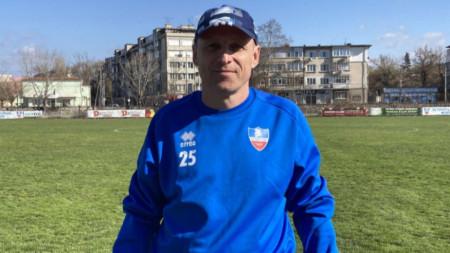Иван Петров е новият старши треньор на Спартак (Пловдив)