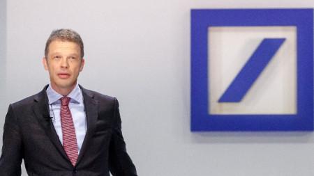 Кристиан Севинг, главен изпълнителен директор на Дойче банк