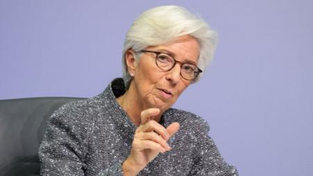 Кристин Лагард, управител на ЕЦБ