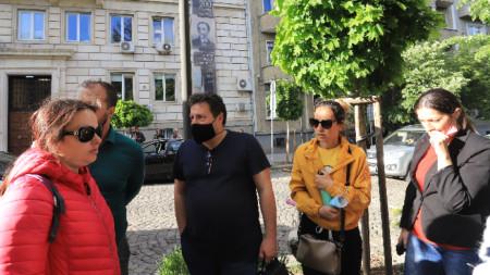 Родители на протест пред Столична община, 14 май 2021 г.
