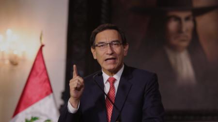 Президентът на Перу Мартин Вискара
