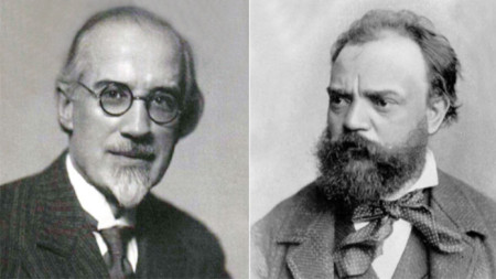 Добри Христов и Антонин Дворжак