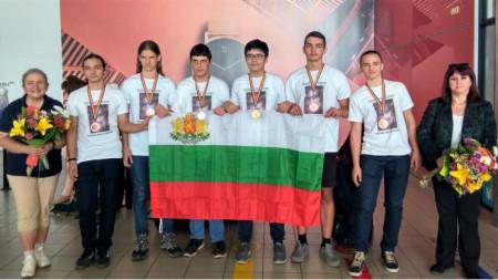Националният отбор на България от Международната олимпиада по астрономия