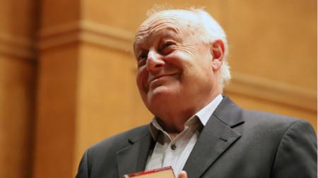 Георги Димитров с приза за изключителен принос към българската култура