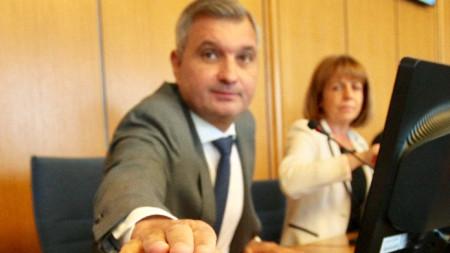 Елен Герджиков и Йорданка Фандъкова