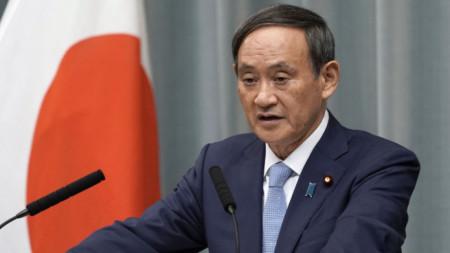 Плановете на Япония бяха обявени от Йошихиде Суга - говорител на правителството.