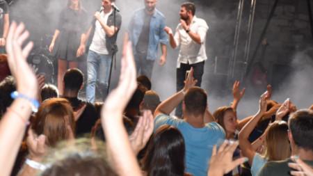 S.A.R.S. по време на концерт в Пловдив през 2018 година