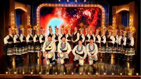Рангел Вангелов с Танцов колектив