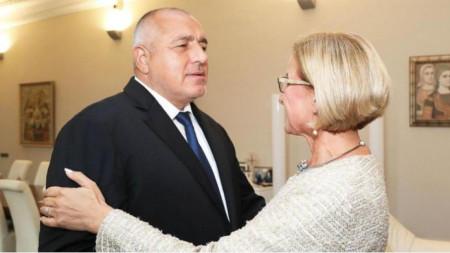 Bojko Borissow und Johanna Mikl-Leitner