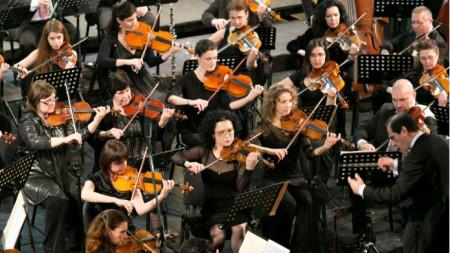 Фестивален оркестър - Русе, диригент Емил Табаков