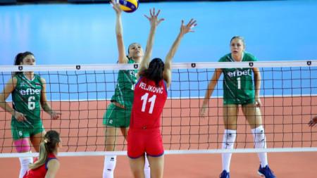 Сърбия - България 3:0 гейма