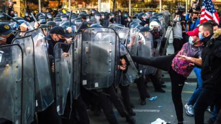 Протест в Скопие