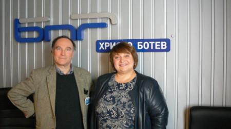 Андреа ди Робилант и Дарина Маринова