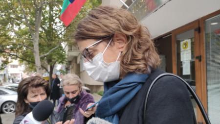 Д-р Петя Балулова, началник на РЗИ - Сливен
