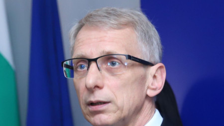 Служебният министър на образованието Николай Денков