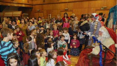 коледно парти за децата на БНР
