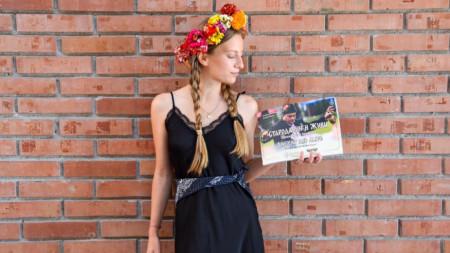 Симона Назърова – лице на кампанията за съживяване на традициите в село Брежани