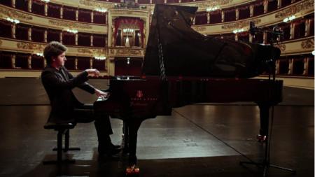 Емануил Иванов в Ла Скала - Милано