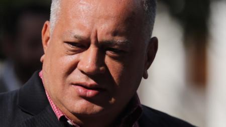 Венецуелският парламентарен лидер Диосдадо Кабело.