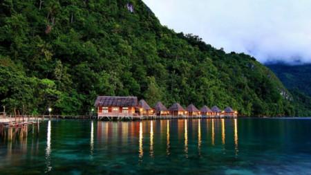 Молукските острови са любимо място за гмуркане
