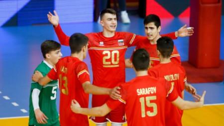 Юношите са в група с Италия и Сърбия.