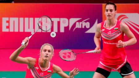 Габриела (на преден план) и Стефани Стоеви ще играят за втори път на олимпийски игри.