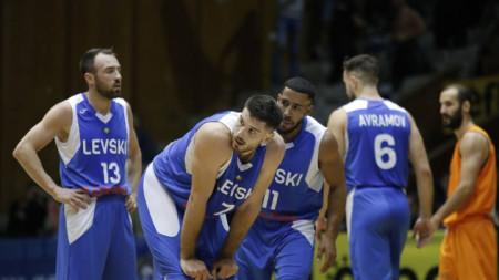 Баскетболистите на Левски