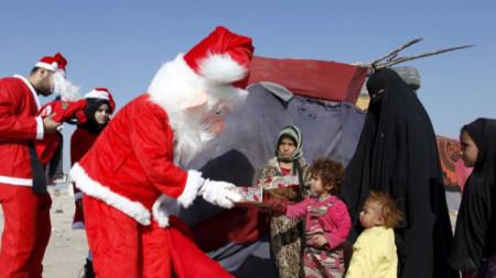 Дядо Коледа в Ирак