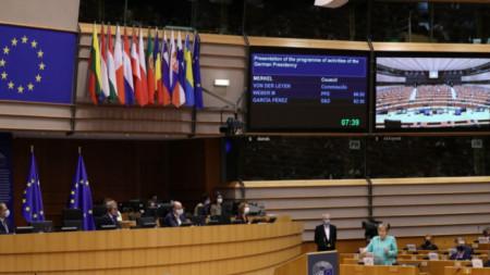 Пленарна сесия на Европейския парламент