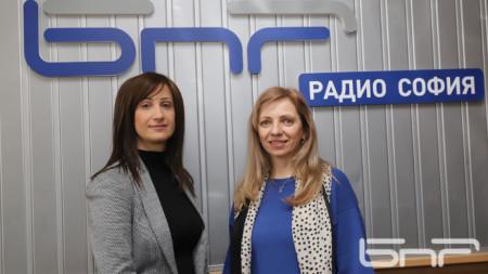 Надя Гогова и Елена Матеева