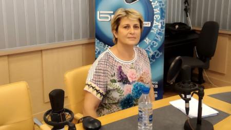 "Весела Лечева в студио на програма ""Хоризонт"""