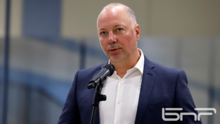 Транспортният министър Росен Желязков